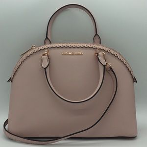 MICHAEL KORS EMMY LG DOME Satchel Bag Blossom